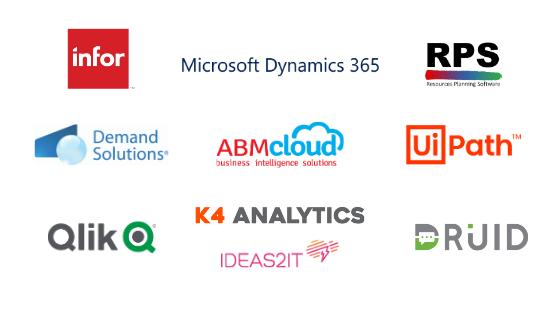 Partners de Novatech en 2020