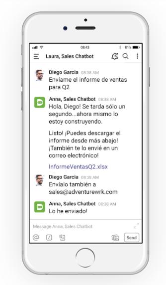 Integración Chatbot Druid con RPA UiPath